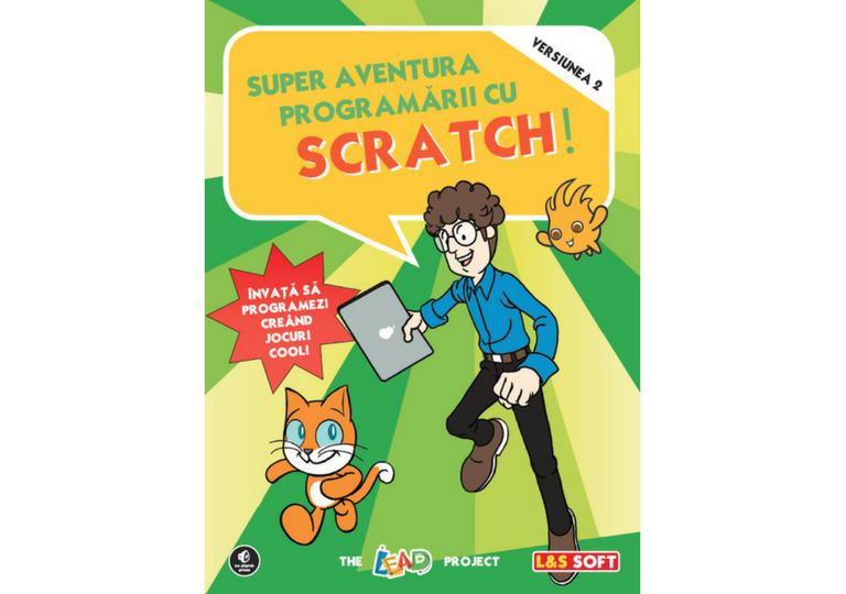 羅馬尼亞文版Scratch 2.0遊俠傳